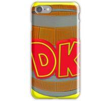 Donkey Kong Country - DK Barrel  iPhone Case/Skin