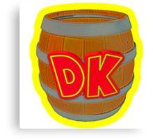 Donkey Kong Country - DK Barrel  Canvas Print
