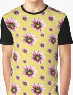 Pink Gazania Graphic T-Shirt