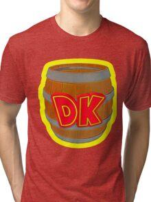 Donkey Kong Country - DK Barrel  Tri-blend T-Shirt