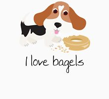 I Love Bagels Womens Fitted T-Shirt