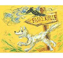 Baskerville: Sergei Lefert's drawing Photographic Print