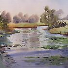 'The Lagoon, Richmond' by Julie Simmons