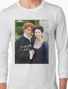 Dragonfly in Amber/Jamie & Claire Long Sleeve T-Shirt