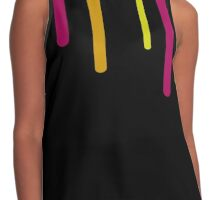 Color Drips Contrast Tank