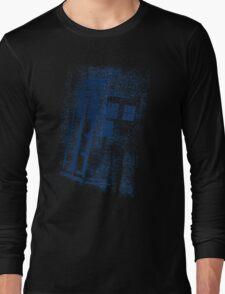 Big Blue Box Long Sleeve T-Shirt