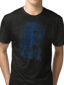 Big Blue Box Tri-blend T-Shirt