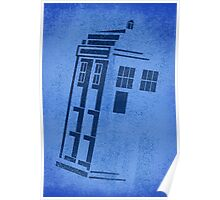 Big Blue Box Poster