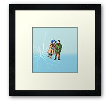 Eternal Sunshine of the Spotless Mind - Pixel Art - Square Framed Print