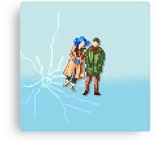 Eternal Sunshine of the Spotless Mind - Pixel Art - Square Canvas Print