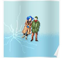 Eternal Sunshine of the Spotless Mind - Pixel Art - Square Poster