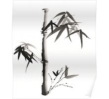 Peaceful Bamboo Poster