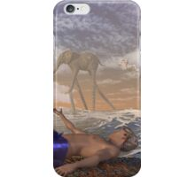 A Dream Of The Future 5 Minutes Before Waking iPhone Case/Skin