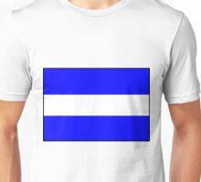 Letter J Flag Unisex T-Shirt