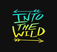 into the wild font Unisex T-Shirt