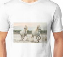 Two Camargue Mares  Unisex T-Shirt