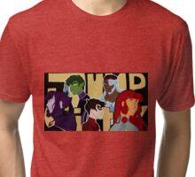 Teen Titans Jump City Tri-blend T-Shirt