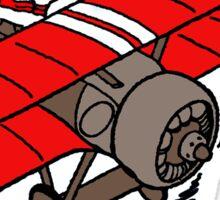 flying snoopy Sticker