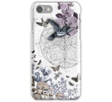 astrological garden party iPhone Case/Skin