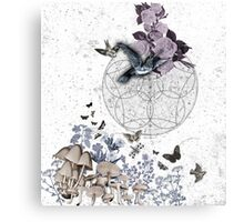 astrological garden party Canvas Print