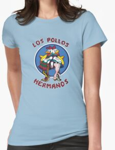 -BREAKING BAD- Los Pollos Hermanos Womens Fitted T-Shirt