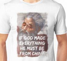 Chinese God Unisex T-Shirt