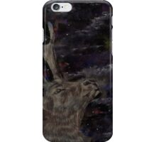 Stag at the Northern Lights iPhone Case/Skin
