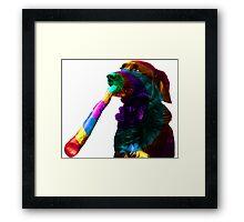 Oz Stick Framed Print