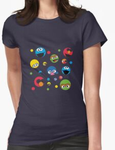 Sesame Street Womens Fitted T-Shirt