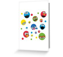 Sesame Street Greeting Card