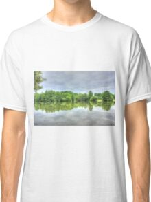Cloudy Reflection HDR Classic T-Shirt