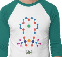 University of Newcastle Chemistry Society Lithium Tetraglyme TFSI Shirt Men's Baseball ¾ T-Shirt