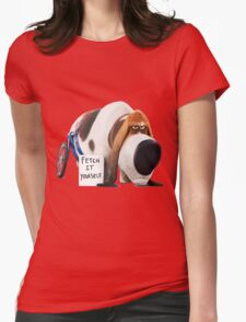 Pops - The secret life of pets Womens Fitted T-Shirt