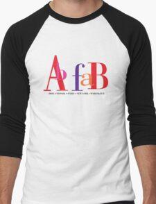 Ab Fab - Holland Park Men's Baseball ¾ T-Shirt