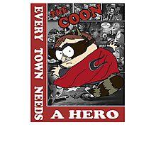 Eric Cartman The Coon Photographic Print