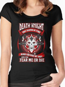 Death Knight Frost Sharpens My Strike - Wow Women's Fitted Scoop T-Shirt