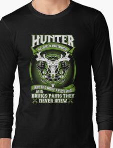 Hunter Bring Pains They Never Knew - Wow Long Sleeve T-Shirt