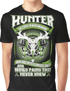 Hunter Bring Pains They Never Knew - Wow Graphic T-Shirt