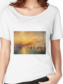Thomas Moran - View Of Venice 1895. Women's Relaxed Fit T-Shirt