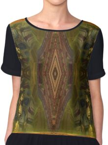 I Wish for a Map Chiffon Top