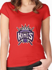 sakramento king lo Women's Fitted Scoop T-Shirt