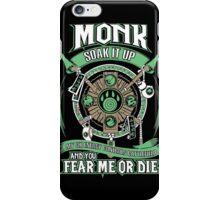 Monk Soak It Up - Wow iPhone Case/Skin