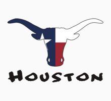 Houston Texas One Piece - Short Sleeve