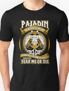 Paladin The Warrior Of The Light - Wow Unisex T-Shirt