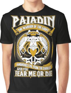 Paladin The Warrior Of The Light - Wow Graphic T-Shirt