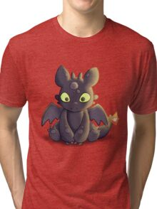Little Dragon Plush Tri-blend T-Shirt