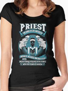 Priest The Angel Of Life And Death - Wow Women's Fitted Scoop T-Shirt