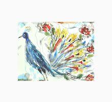 Peacock in Blossom Unisex T-Shirt