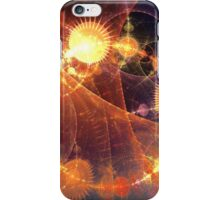 Time and Space on fire iPhone Case/Skin