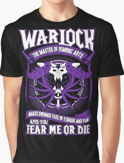 Warlock The Master Of Demonic Arts - Wow Graphic T-Shirt